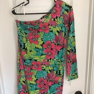 Asymmetrical Lilly Pulitzer Dress